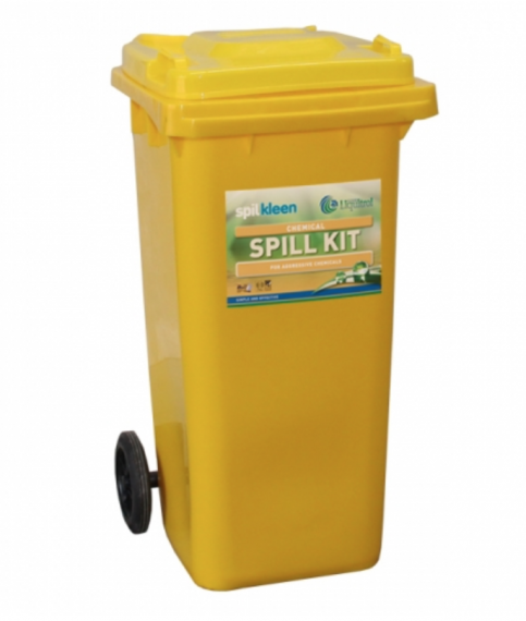 SPILKLEEN CHEMICAL SPILL KIT 120 LITRE