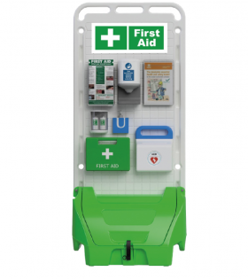MULTI PURPOSE MOBILE DISPLAY UNIT GREEN