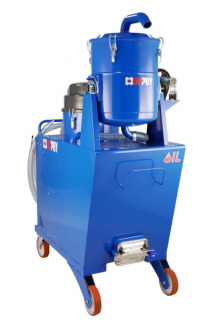 OILVAC 450 Industrial Vacuum Cleaner for Oil & metal Chips Recovery