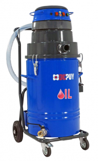 OILVAC 100 PUMP Compact Industrial Vacuum Cleaner for oil & metal chips