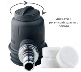 PLS SprayWashTM system for cleaning and disinfection
